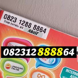 As Kartu perdana nomor cantik telkomsel simpati kuartet 8888 sakti 64