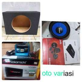 Paket audio komplit suara mantap hrg murah