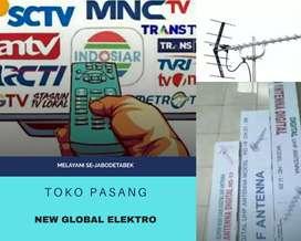 Instalasi Pemasangan Sinyal Antena Tv Cipatat
