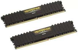 Corsair Vengeance LPX 8GB X2 DDR4 RAM 3000MHZ