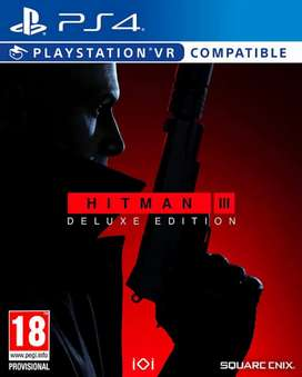 Hitman 3 Ps4/Ps5 100% Original with 1 year Replacement Warranty