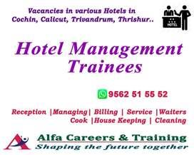 HOTEL MANAGEMENT TRAINEES