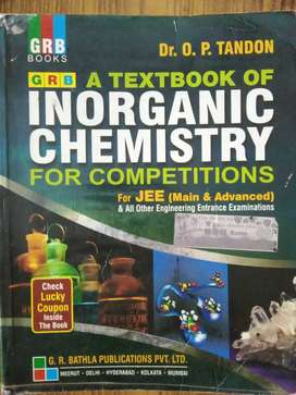 GRB TEXTBOOK OF INORGANIC CHEMISTRY FOR JEE MAIN & ADVANCED