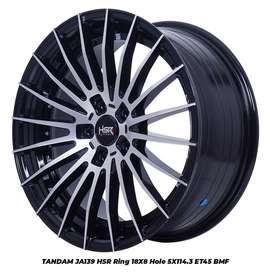 Jual Velg Mobil Baru Merk HSR Tandam R18X8 H5x114.3 ET45 BMF