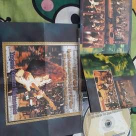 CD audio dan Video ori Yngwie Malmsteen