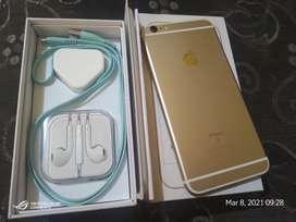 iPhone 6s plus 128gb Fullset Mulus banget