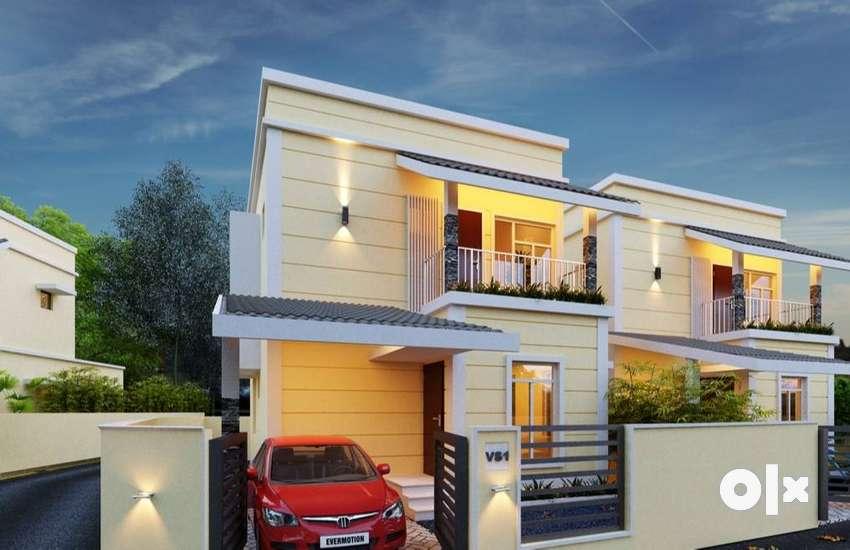 3 Bedroom Villa in 5 cents | 44.90 Lakhs onward |  Palakkad 0