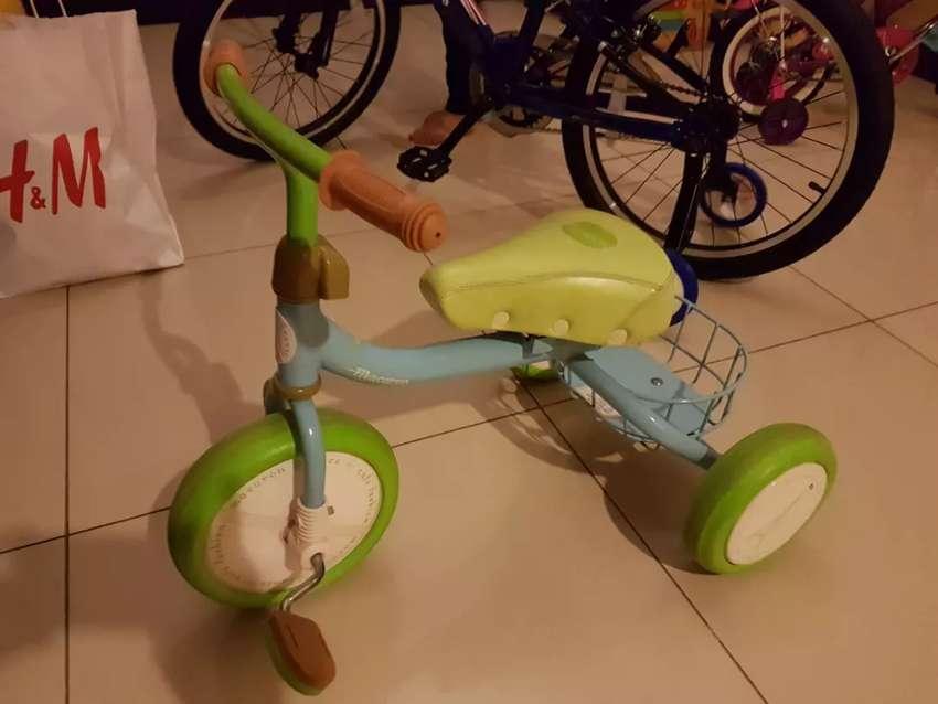 Sepeda roda 3 anak 0