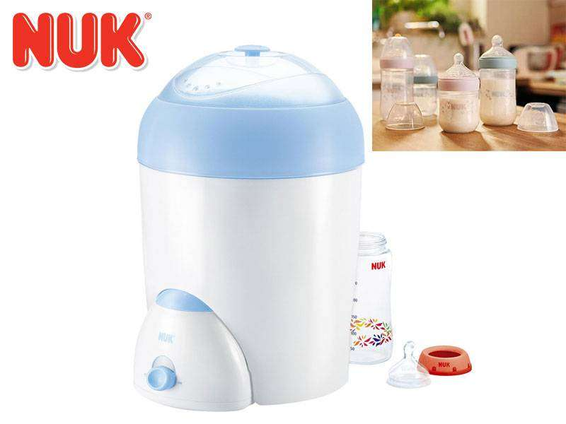 NUK Vapo Rapid Electric Baby Bottle Steam Sterilizer Like Avent Tommee 0