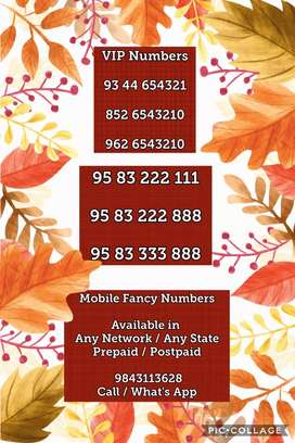 Airtel Mobile Fancy Numbers Available in Chennai