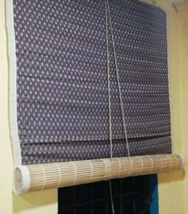 Bamboo Blind Chick Window CloserCurtain