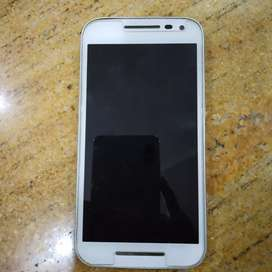 Moto G 3rd generation with 2gb ram, 16gb rom and in working condition