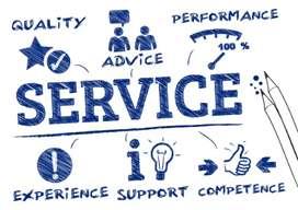 All Work / Service provider.
