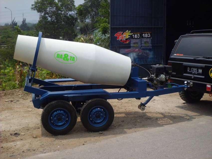 Trailer Concrete Mixer
