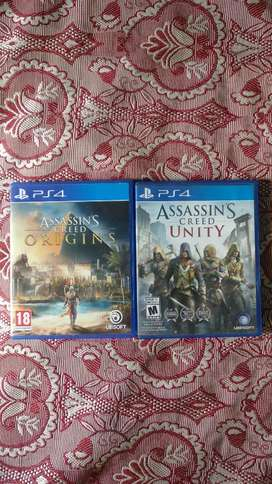 Assassin's creed PS4 bundle