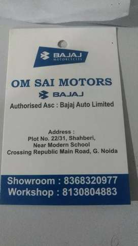 A Receptionist girl is required for Bajaj two wheeler showroom .