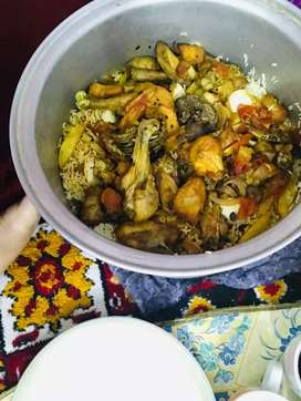 i made home maid food in my home n i delever also on the spot  freesh