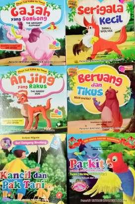 buku cerita dongeng berwarna