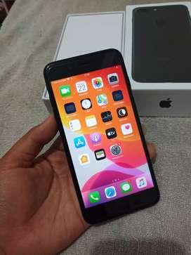 Iphone 7+ plus 128gb hitam ful murah tt barter samsung s9+ oppo vivo