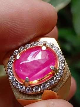 Windusara Ruby Burma serat junder kristal