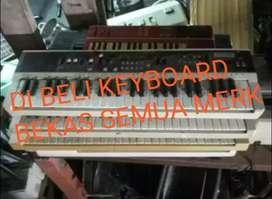 Terima keyboard dan piano bekas