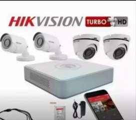 PAKET LENGKAP KAMERA CCTV FULL HD FREE SETTING KE HP