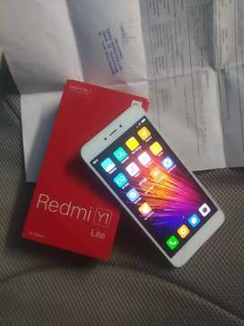 Redmi y1 lite 2/14 4g dual SIM with bill box