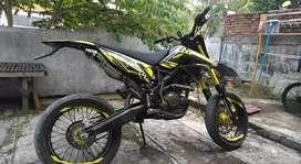 KLX upgrade (Yellow Black)