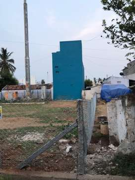 Empty land for rent with fencing