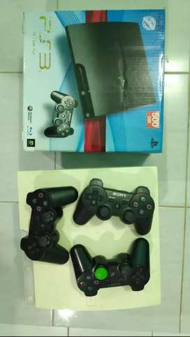 PS 3 500GB 3 STICK NO MINUS