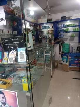 Mobile ki shope for rent