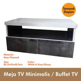 Meja TV Minimalis Buffet TV