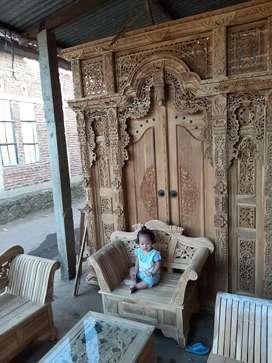 cuci gudang pintu gebyok gapuro jendela rumah masjid musholla piah