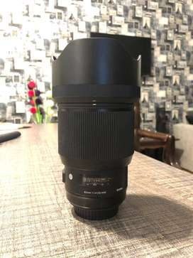 Sigma 85mm f1.4 Cannon mount