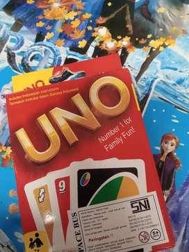 Mainan uno kartu baru