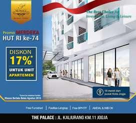 Hot Sale For Ambon,Diskon Banyak di Apartemen The Palace Bulan Ini