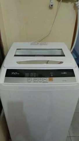 Kredit mesin cuci panasonic 7kg 1tabung tampa dp