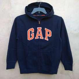 02 GAP Zip Hoodie Jacket/Jaket 101% Original