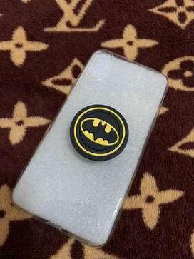 CASE [ POPSOCKET BATMAN ] CLEAR