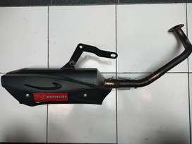 Knalpot Racing R9 Exhaust Matic