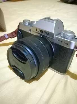 Fujifilm XT100 kit 15-45mm kamera mirrorless