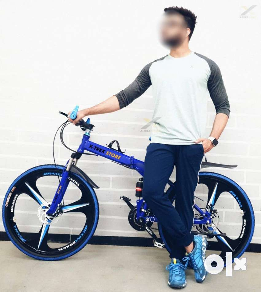 BM Foldable Cycle with 21 Speed Gears-Imported- Available in Noida 0