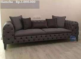 Costum sofa Tempahan free meja dan ongkir