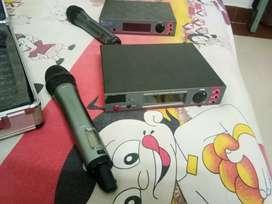 Cordless sound mic 2 pieces