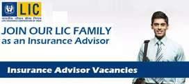 Insurance Advisors Required for LIC