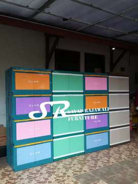 Lemari Plastik Club Max Susun 4 Murah Area Jogja (dwi)