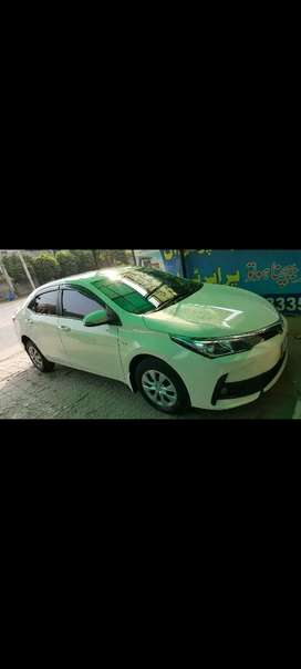 Total ganian 2018 model toyota gli manual white colour