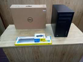 CPU - ZEBRONICS BRAND - WARRANTY - HOME DELIVERY FREE - MONITOR DELL