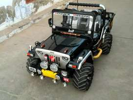 All type modified Jeep and Gypsy and Mahindra Thar