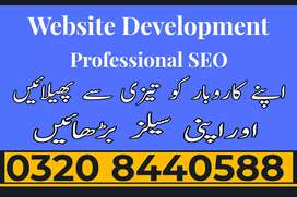 Weebsite design & Development and SEO services less rates from market